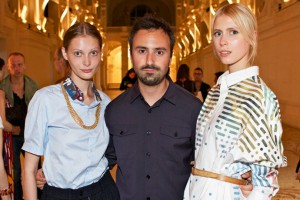 Julien David at ANDAM Awards